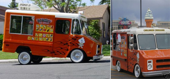 She Would Drive Around Town In This Pimped Out Ice Cream Truck While Blasting Songs Such As Back Dat Ass Up And Keliss Milkshake But Wait